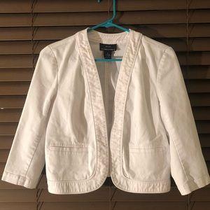 Jackets & Blazers - White blazer/jacket.